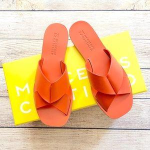 Mercedes Castillo Leather Sandals